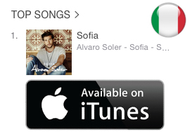 Sofia #1 iTunes Italy